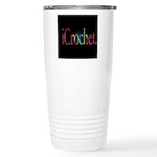 i Crochet Ceramic Travel Mug