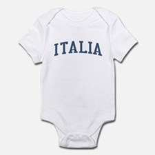Italy Blue Infant Bodysuit