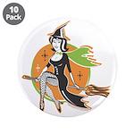 Vintage Halloween Witch 3.5