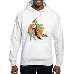 Vintage Halloween Witch Hooded Sweatshirt