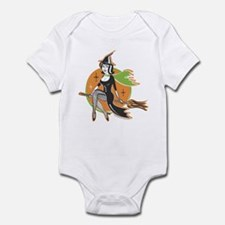 Vintage Halloween Witch Infant Bodysuit