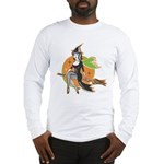 Vintage Halloween Witch Long Sleeve T-Shirt