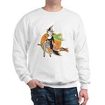 Vintage Halloween Witch Sweatshirt