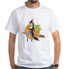 Vintage Halloween Witch Shirt
