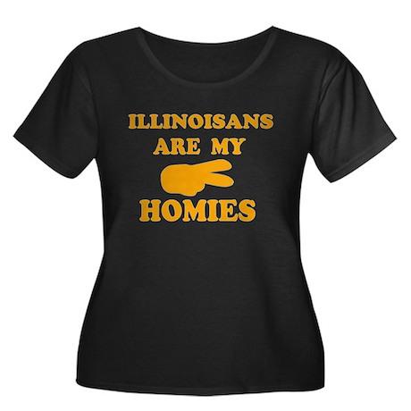 Illinoisans are my homies Women's Plus Size Scoop