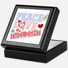 Peace Love Twilight Keepsake Box