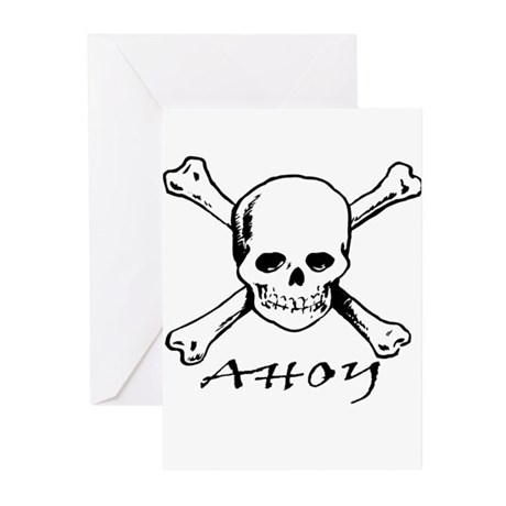 Ahoy Greeting Cards (Pk of 10)