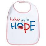 Born Into Hope - Obama Baby Bib