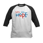 Born Into Hope - Obama Baby Kids Baseball Jersey