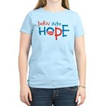 Born Into Hope - Obama Baby Women's Light T-Shirt