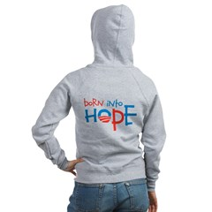 Born Into Hope - Obama Baby Zip Hoodie