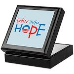 Born Into Hope - Obama Baby Keepsake Box