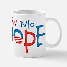 Born Into Hope - Obama Baby Mug