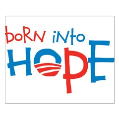 Born Into Hope - Obama Baby Posters