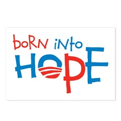 Born Into Hope - Obama Baby Postcards (Package of