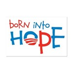 Born Into Hope - Obama Baby Mini Poster Print