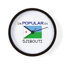 I'm Popular In DJIBOUTI Wall Clock