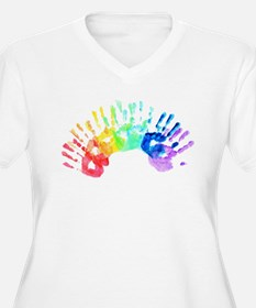 Rainbow Hands T-Shirt