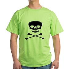 Black Skull and Crossbones T-Shirt