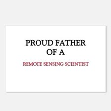 Proud Father Of A REMOTE SENSING SCIENTIST Postcar