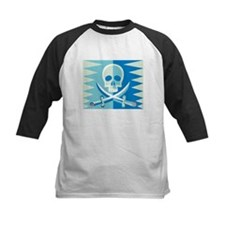 Skull and Swords in Blue Tee