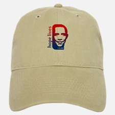 Hope Lives-Obama Baseball Baseball Cap