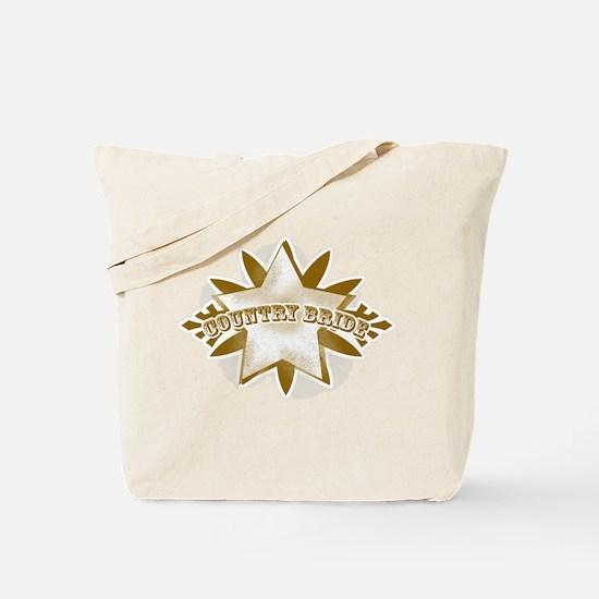 Country Bride Tan Tote Bag