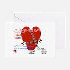 Anti-Valentine Greeting Card