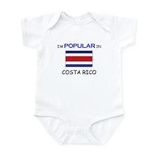 I'm Popular In COSTA RICO Infant Bodysuit