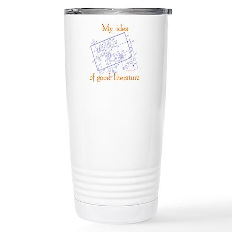 Radio Schematic Stainless Steel Travel Mug