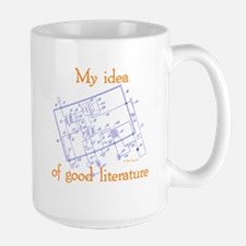 Radio Schematic Large Mug
