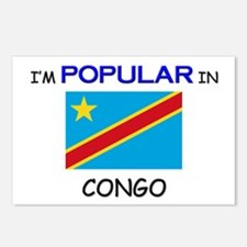 I'm Popular In CONGO Postcards (Package of 8)
