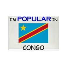 I'm Popular In CONGO Rectangle Magnet