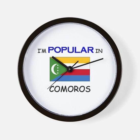 I'm Popular In COMOROS Wall Clock