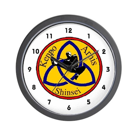 Shinsei Ryu Kenpo/Arnis Wall Clock