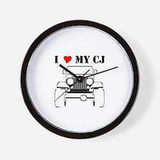 Cute Yj Wall Clock