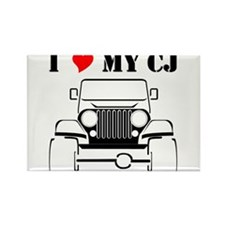 Cute Jeeps Rectangle Magnet