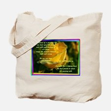 Tote Bag - REFLECTIONS OF A PERSON'S LIFE