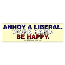 Annoy a Liberal Bumper Bumper Sticker
