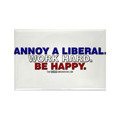 Annoy a Liberal Rectangle Magnet (10 pack)