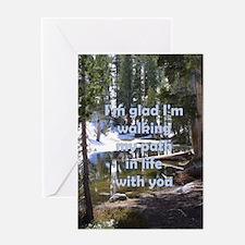 Greeting Card - PATH OF LIFE