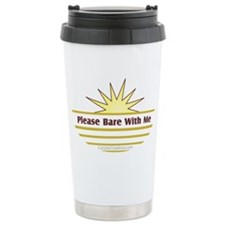 Please Bare - Stainless Steel Travel Mug