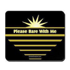 Please Bare - Mousepad