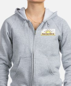 Please Bare - Zip Hoody