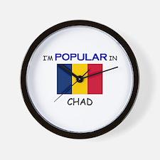 I'm Popular In CHAD Wall Clock