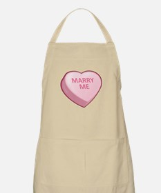 MARRY ME Candy Heart BBQ Apron