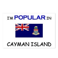 I'm Popular In CAYMAN ISLAND Postcards (Package of