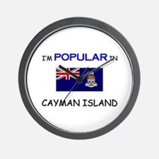 I'm Popular In CAYMAN ISLAND Wall Clock