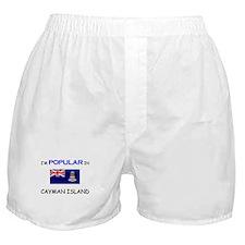 I'm Popular In CAYMAN ISLAND Boxer Shorts