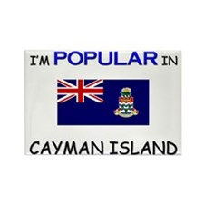 I'm Popular In CAYMAN ISLAND Rectangle Magnet